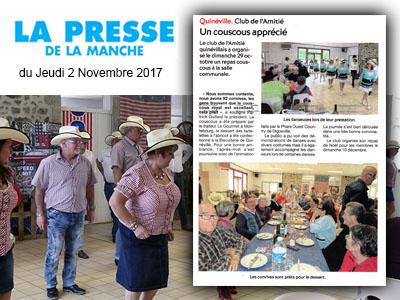 Presse de la manche 02 11 2017 a little b